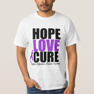 Hope Love Cure Alzheimer's Disease T-Shirt