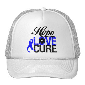 Hope Love Cure - Anal Cancer Trucker Hat