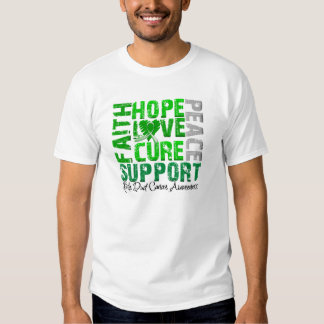 Hope Love Cure Bile Duct Cancer Awareness Shirt