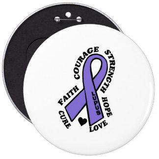 Hope Love Cure...Lupus 6 Cm Round Badge