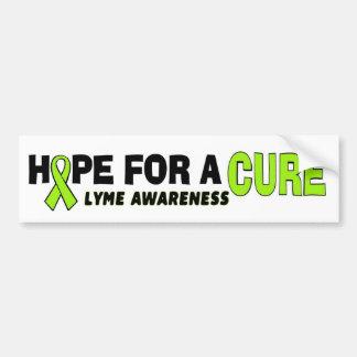 Hope Love Cure...Lyme Bumper Sticker