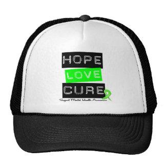 Hope Love Cure - Mental Health Awareness Cap