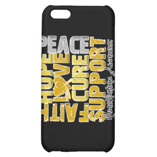 Hope Love Cure Neuroblastoma Awareness iPhone 5C Covers