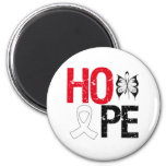 Hope Lung Cancer Awareness Magnets