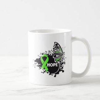 Hope Lyme Disease Butterfly Ribbon Classic White Coffee Mug