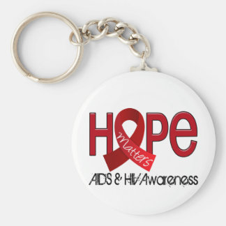 Hope Matters 2 AIDS Keychain