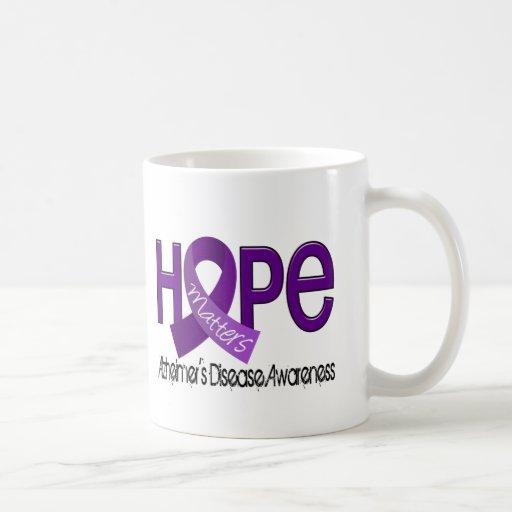 Hope Matters 2 Alzheimer's Disease Mugs