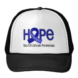 Hope Matters 2 Anal / Rectal Cancer Mesh Hats