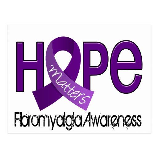 Hope Matters 2 Fibromyalgia Postcards