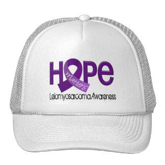 Hope Matters 2 Leiomyosarcoma Trucker Hats
