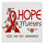 Hope Matters 3 AIDS Print
