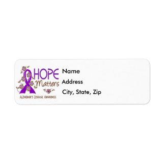 Hope Matters 3 Alzheimer's Disease
