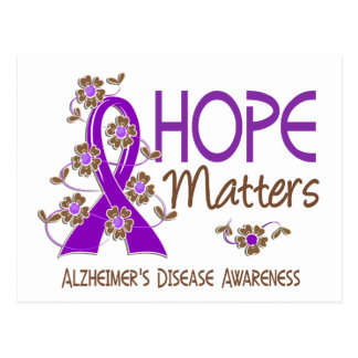 Hope Matters 3 Alzheimer's Disease Postcard