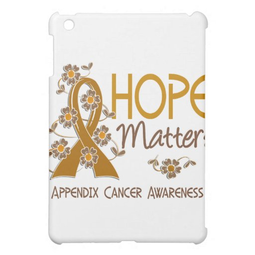 Hope Matters 3 Appendix Cancer Cover For The iPad Mini