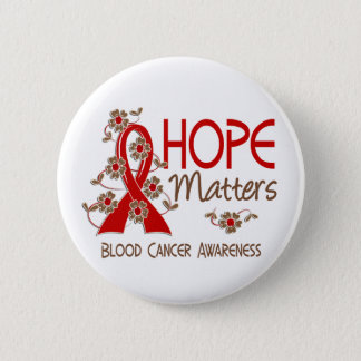 Hope Matters 3 Blood Cancer 6 Cm Round Badge