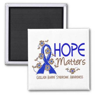 Hope Matters 3 Guillain Barre Syndrome Fridge Magnet