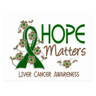 Hope Matters 3 Liver Cancer Postcard