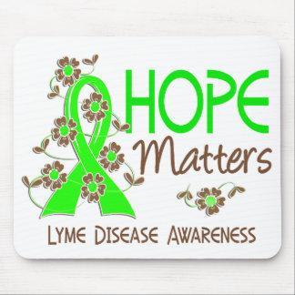 Hope Matters 3 Lyme Disease Mousepads