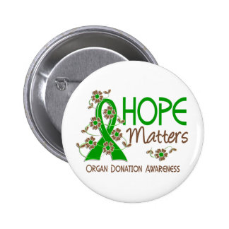 Hope Matters 3 Organ Donation 6 Cm Round Badge