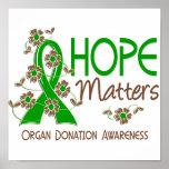 Hope Matters 3 Organ Donation Poster