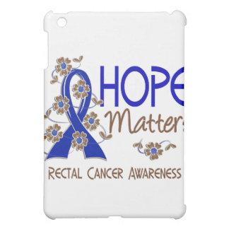 Hope Matters 3 Rectal Cancer iPad Mini Covers
