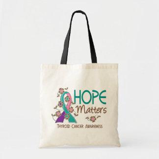 Hope Matters 3 Thyroid Cancer Bag