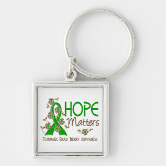 Hope Matters 3 Traumatic Brain Injury TBI Key Chain