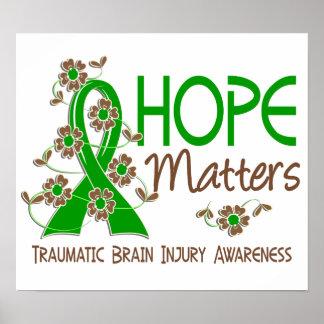 Hope Matters 3 Traumatic Brain Injury TBI Print