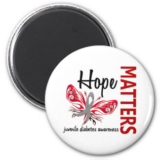 Hope Matters Butterfly Juvenile Diabetes Refrigerator Magnet