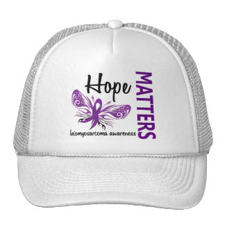 Hope Matters Butterfly Leiomyosarcoma Trucker Hat