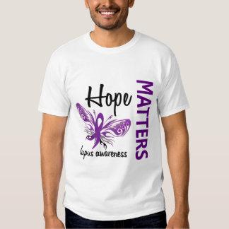 Hope Matters Butterfly Lupus Tee Shirt