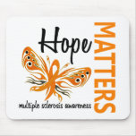 Hope Matters Butterfly Multiple Sclerosis Mouse Mat