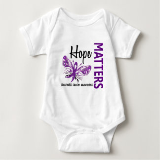 Hope Matters Butterfly Pancreatic Cancer T-shirt
