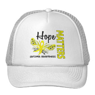 Hope Matters Butterfly Sarcoma Trucker Hat