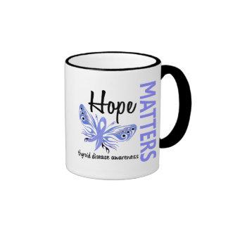 Hope Matters Butterfly Thyroid Disease Coffee Mug