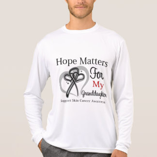 Hope Matters For My Granddaughter - Skin Cancer Tee Shirt