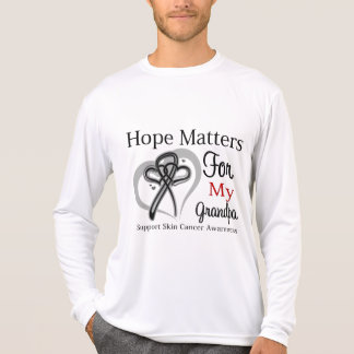 Hope Matters For My Grandpa - Skin Cancer T-shirts