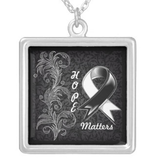 Hope Matters Ribbon Carcinoid Cancer Jewelry
