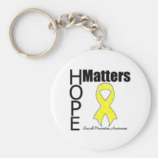 Hope Matters Suicide Prevention Key Chains
