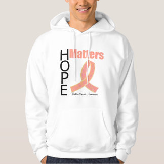 Hope Matters Uterine Cancer (Jeweled Ribbon) Hoody