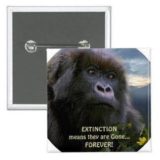 HOPE Mountain Gorilla anti Extinction Button