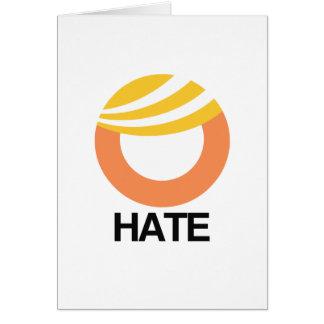 HOPE (Obama) vs. HATE (Trump) Greeting Card