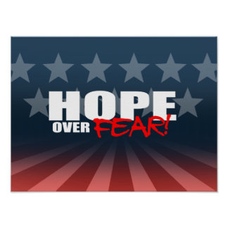 HOPE OVER FEAR PRINT