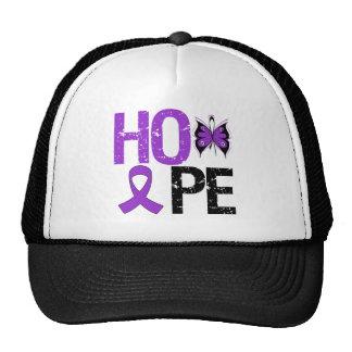 Hope Pancreatic Cancer Awareness Mesh Hat