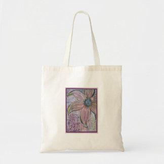 Hope, Peace & Love Budget Tote Bag