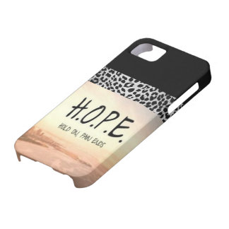 HOPE phonecase iPhone 5 Cases
