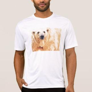 Hope Polar Bear Wildlife Watercolor Art T Shirt