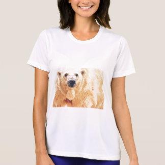 """""""Hope"""" Polar Bear Wildlife Watercolor Art T Shirt"""