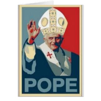 HOPE POPE CARD
