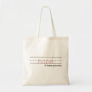 hope   Practice Tote Bag